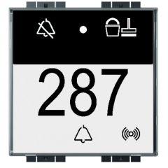Commande KNX Livinglight - 1 ou 2 touches / 4 appuis - à compléter