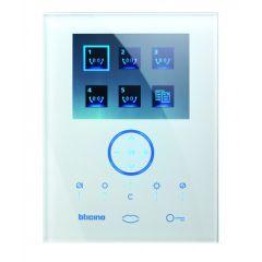 Poste intérieur Axolute Whice BUS 2 fils vidéo mains-libres - Blanc
