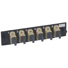 Bloc fibre optique MPO - 72 fibres multimode - pr tiroir optique réf. 32569-LCS²