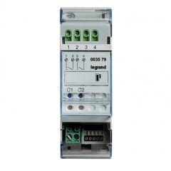 Actionneur 2 relais indépendants gestion de température MyHOME BUS - 2 modules