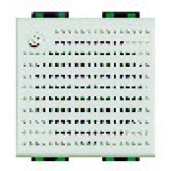 Sonnerie BUS 2 fils supplémentaire encastrée Livinglight - Blanc