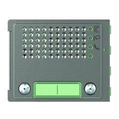 Façade Sfera Robur pour module électronique audio 2 appels/2 rangées