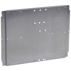 Platine XL³ 400 - pour 1 DPX 250/630 (400 A) diff aval fixe - vertical centré