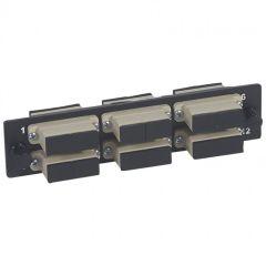 Bloc fibre optique SC - 12 fibres multimode - pr tiroir optique réf. 32569-LCS²