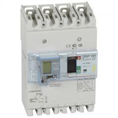 Disj puissance DPX³ 160 - magnéto-thermique diff - 16 kA - 4P - 125 A