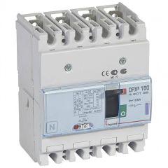 Disj puissance DPX³ 160 - magnéto-thermique - 50 kA - 4P - 125 A