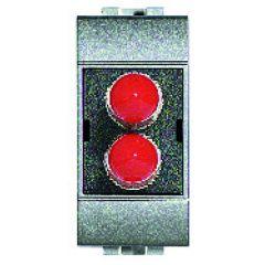 Connecteur fibre optique ST Livinglight - Tech - 1 module