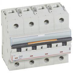 Disj DX³-vis/vis-4P-400V~-40A-25kA-courbe D - 6M