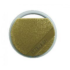 Badge de proximité résidents 13,56 MHz (lecture/écriture) - couleur marron