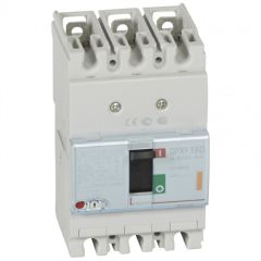 Disj puissance DPX³ 160 - magnéto-thermique - 25 kA - 3P - 80 A
