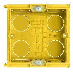 Boîte d'encastrement pour maçonnerie - prof. 50 mm - 2 modules