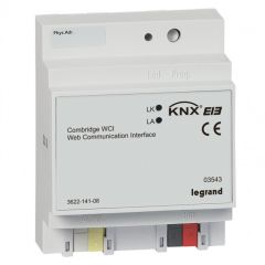 Passerelle modulaire IP - BUS/KNX - 4 modules