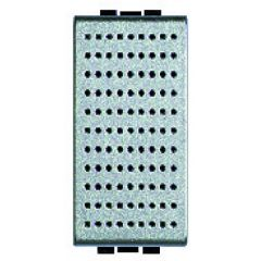 Sonnette à timbre bronze 230 V~ Livinglight - Tech - 1 module