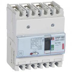 Disj puissance DPX³ 160 - magnéto-thermique - 36 kA - 4P - 16 A