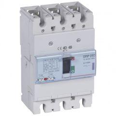 Disj puissance DPX³ 250 - magnéto-thermique - 50 kA - 3P - 100 A