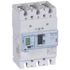 Disj puissance DPX³ 250 - électronique - 36 kA - 3P - 40 A