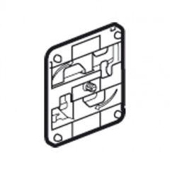 Accessoire de fixation pour chemin de câble fil - sans vis - pr boite 80x80 mm