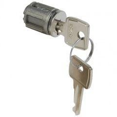 Barillet à clé type 1242 E - pour porte métal ou vitrée XL³ - avec 1 jeu 2 clés