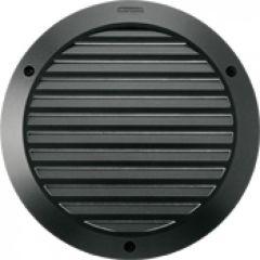 Luminaire Kalank rond avec grille taille 2 noir G24Q2 / 18W