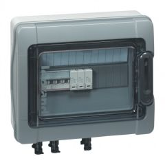 Coffret Plexo³ - IP65 - précâblé 3kWc - 600 V= pour installation photovoltaïque