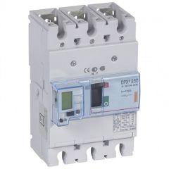 Disj puissance DPX³ 250 - électronique à unité de mesure - 25 kA - 3P - 100 A