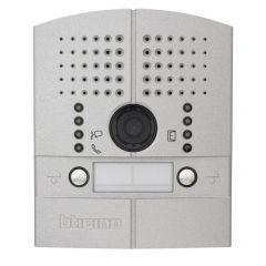 Platine de rue Linea 2000 métal vidéo couleur encastrée - 2 BP