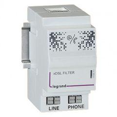 Filtre ADSL - pour accès téléphone et ADSL dans coffret Optimum - 2 modules