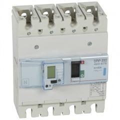 Disj puissance DPX³ 250 - électronique à unité de mesure - 70 kA - 4P - 40 A