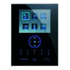 Poste intérieur Axolute Nighter BUS 2 fils vidéo mains-libres - Noir