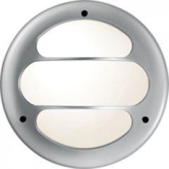 Hublot Koreo Arc rond grille 2 taille 2 gris E27