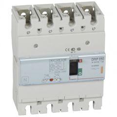 Disj puissance DPX³ 250 - magnéto-thermique - 25 kA - 4P - 250 A