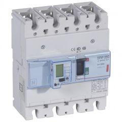 Disj puissance DPX³ 250 - électronique à unité de mesure - 36 kA - 4P - 160 A