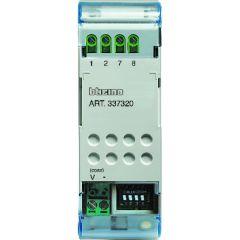 Convertisseur de signal vidéo opto. isolé pour caméra coaxiale > 150 mA