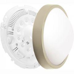 Luminaire Oleron déco taille 1 titane 12 leds 6500k détection+préavis+veille