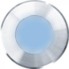 Encastre de sol KALANKOSOL diamètre 60 mm LED bleue alimentation séparée 24V