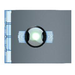 Façade Sfera New pour module électronique caméra grd angle Jour/Nuit-Allstreet