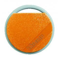 Badge de proximité résidents 13,56 MHz (lecture/écriture) - couleur orange