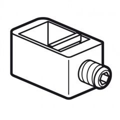 Borne de raccordement (4) DPX³ 160 - pour câble Cu/Al souple ou rigide