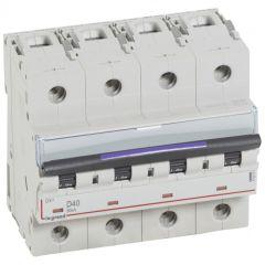 Disj magnéto-therm DX³ - 4P - 40 A - 50 kA - courbe D - 6M