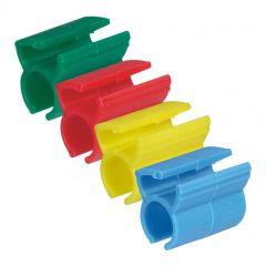 Kit pour repérage cordons RJ 45 - 200 bagues couleurs