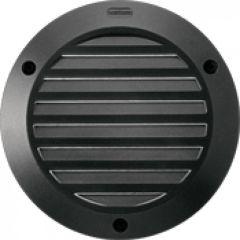 Luminaire Kalank rond avec grille taille 1 noir G24Q1 / 10W