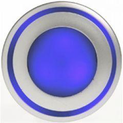 Luminaire Kalank mini LED frontal bleu / 1W