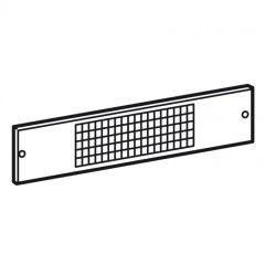 Panneau de ventilation XL³ 4000 - pour socles largeur 725 mm