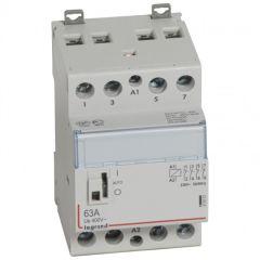 Contacteur de puissance bobine 230 V~ - 4P - 250 V~ - 63 A - 4O - 3 mod