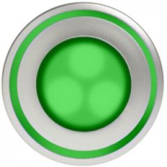 Luminaire Kalank mini LED frontal vert / 0,9W