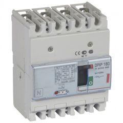 Disj puissance DPX³ 160 - magnéto-thermique - 36 kA - 4P - 125 A