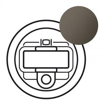 Enjoliveur Céliane - prise HD 15 + Jack 3.5 mm - graphite