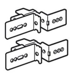 Support fixation de goulotte Lina 25 (2) - XL³ 800/ XL³ 4000 - 24 mod