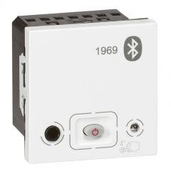 Module bluetooth Prog Mosaic pour diffusion sonore - alimentation 15 V= - blanc