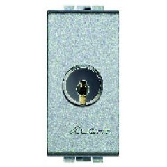 Interrupteur à clé [clés identiques] 16AX - 250V - 1 mod. - LivingLight Tech